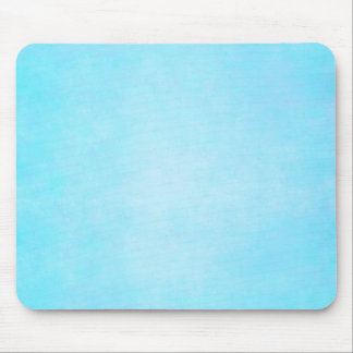 Teal Blue Light Watercolor Template Blank Mouse Mat