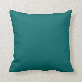teal blue  pillow