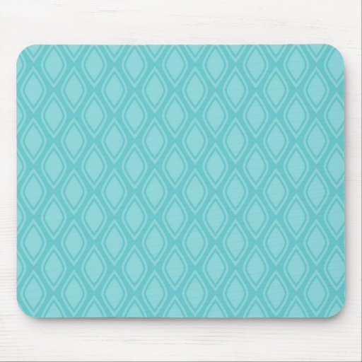 Teal Blue, Turquoise, Vintage Look Mousepads