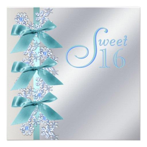 Winter Wonderland Invitation Templates 1000 Winter | Party Invitations ...