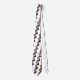 Teal Blue Wood Tie