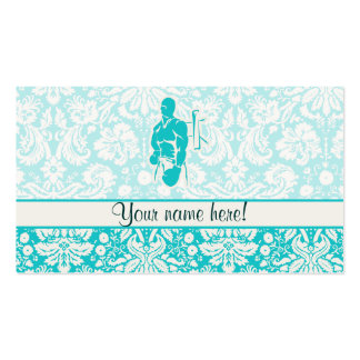 Teal Boxing Pack Of Standard Business Cards