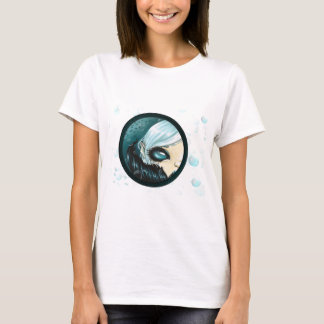 Teal Bubble Mermaid T-Shirt