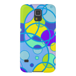 Teal Bubbles Barely There Cell Phone Case