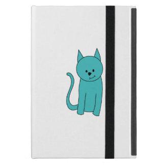 Teal Cat Cases For iPad Mini