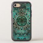 Teal Celtic Knot Mandala Otterbox iPhone Case