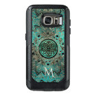 Teal Celtic Knot Mandala Otterbox OtterBox Samsung Galaxy S7 Case