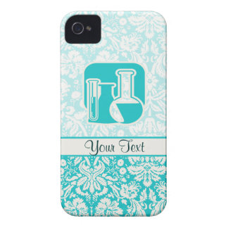 Teal Chemistry Case-Mate iPhone 4 Cases