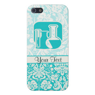 Teal Chemistry Cover For iPhone 5