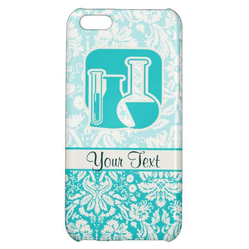 Teal Chemistry iPhone 5C Cover