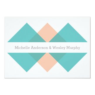 Shop Zazzle's selection of coarl and teal wedding invitations for your special day!