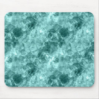 Teal Crumpled Texture Mouse Mat