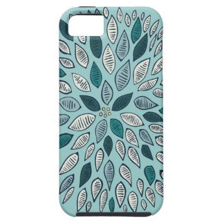 Teal Dahlia Flower iPhone 5 Covers