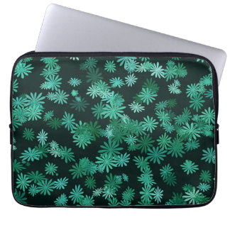 Teal Daisies Laptop Sleeve