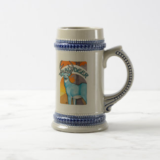 Teal Deer Stein Beer Steins