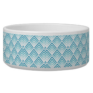 Teal Design Pet Bowl (Large)