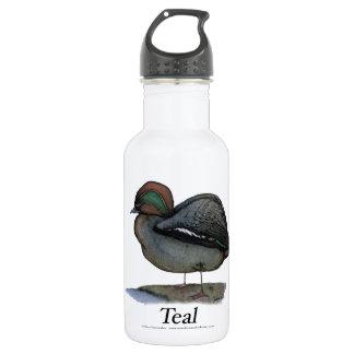 Teal duck, tony fernandes 532 ml water bottle