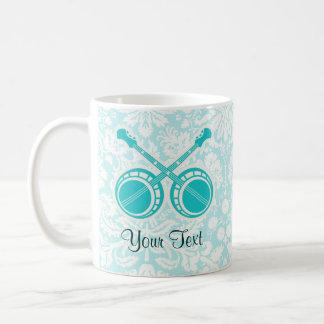 Teal Dueling Banjos Coffee Mug