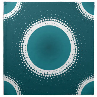 Teal Eclipse Napkin