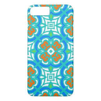 Teal Ethnic Pattern iPhone 8 Plus/7 Plus Case