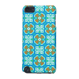 Teal Ethnic Pattern iPod Touch (5th Generation) Cases