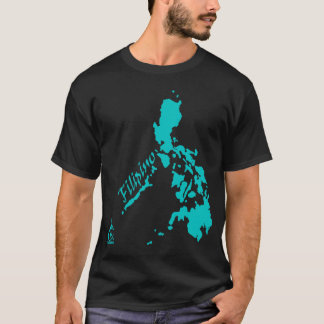 Teal Filipino Philippine Islands T-Shirt