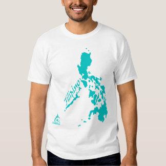 Teal Filipino Philippine Islands Tshirt
