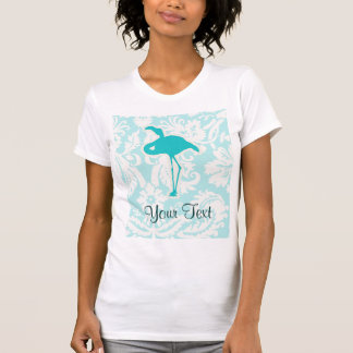 Teal Flamingo T-Shirt