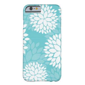 Teal Floral Pattern Cases