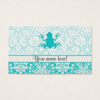 Teal Frog Business Card