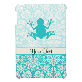 Teal Frog iPad Mini Case