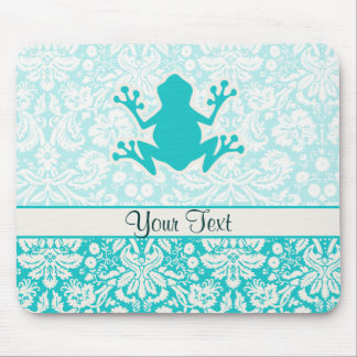 Teal Frog Mouse Mat