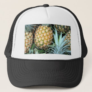 Teal, Green and Golden Hawaiian Pineapples Trucker Hat