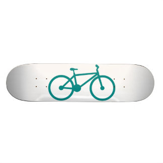 Teal Green Bicycle Skate Boards