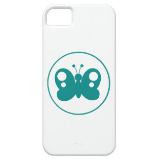 Teal Green Butterfly iPhone 5 Covers