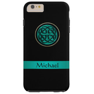 Teal Green Celtic Knot iPhone 6 Plus Case