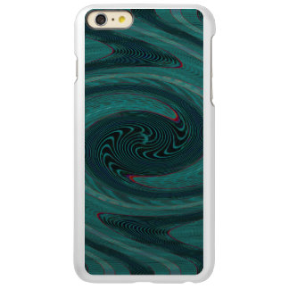 Teal Green Circular Abstract iPhone 6 Plus Case