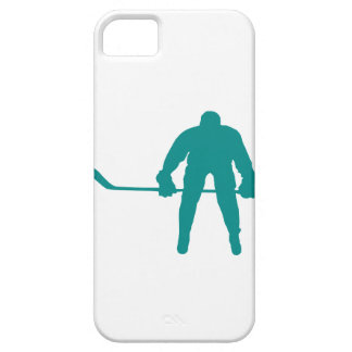Teal Green Hockey iPhone 5 Covers