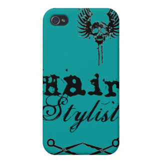 Teal Green IPhone Case Hair Stylist iPhone 4/4S Cases
