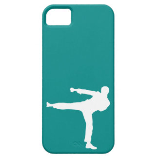 Teal Green Martial Arts iPhone 5 Case