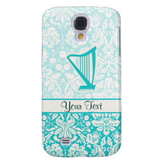 Teal Harp Galaxy S4 Cover