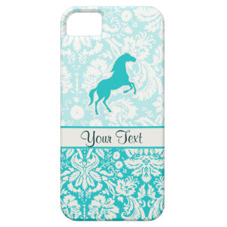 Teal Horse Barely There iPhone 5 Case