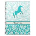 Teal Horse Notebook