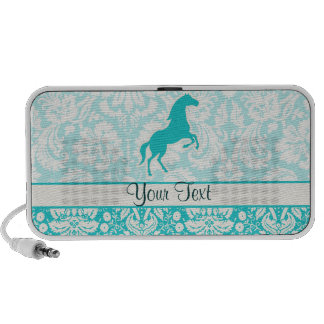 Teal Horse Notebook Speaker