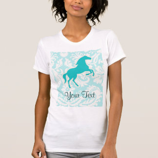 Teal Horse T-Shirt