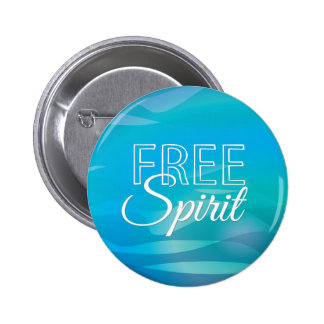 Teal Inspirational Spritiual Freedom Quote Buttons