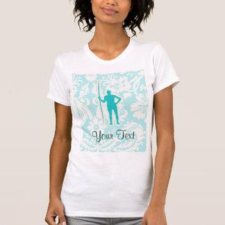 Teal Javelin Throw T Shirts