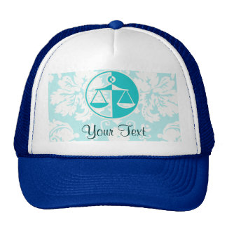 Teal Justice Scales Cap