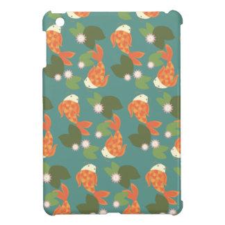 Teal Koi Pond iPad Mini Case