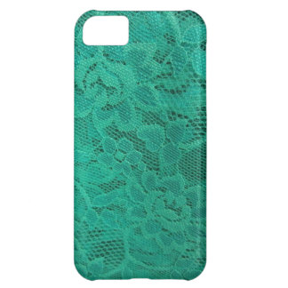 Teal Lace iPhone 5C Case
